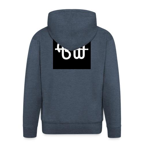 BW simple logo - Mannenjack Premium met capuchon