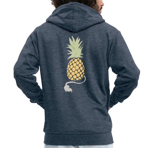 Pineapple demon - Men's Premium Hooded Jacket