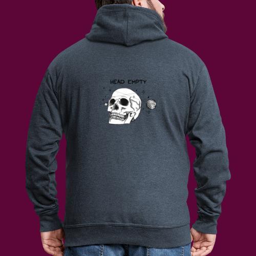 Empty Head - Men's Premium Hooded Jacket
