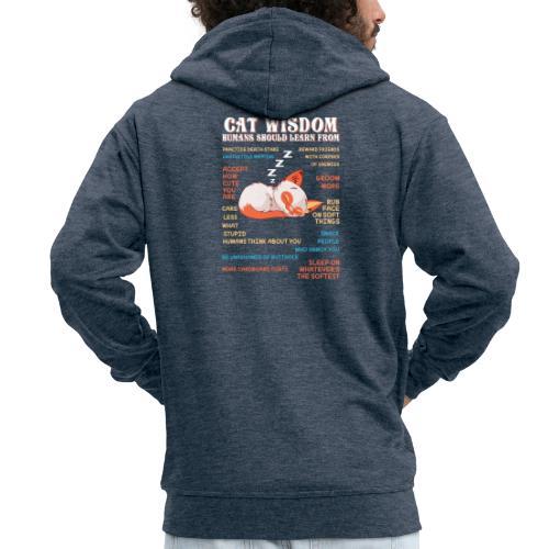 CAT WISDOM - Veste à capuche Premium Homme