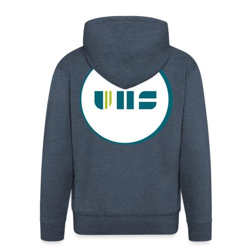 UHS Logo - Männer Premium Kapuzenjacke