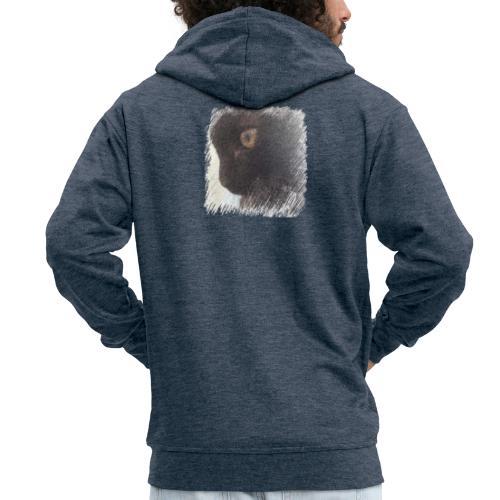 chat - Veste à capuche Premium Homme
