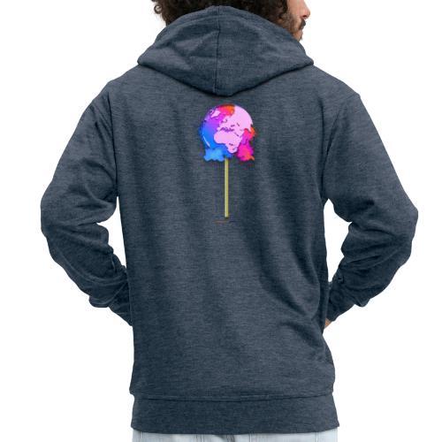 TShirt lollipop world - Veste à capuche Premium Homme
