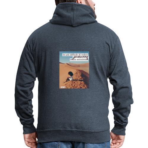 Gomorra Donna Uomo - Felpa con zip Premium da uomo