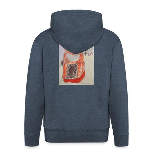 fox - Men's Premium Hooded Jacket