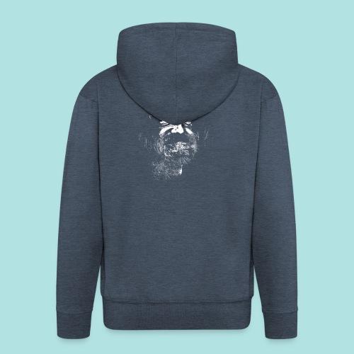 Old Guy, Eyes Open. - Men's Premium Hooded Jacket
