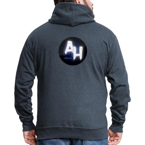 logo tøj - Herre premium hættejakke