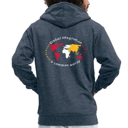 TIAN GREEN - Global Integration - Männer Premium Kapuzenjacke