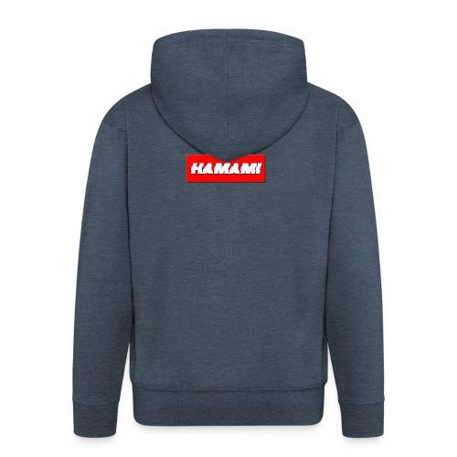 HAMAMI - Felpa con zip Premium da uomo