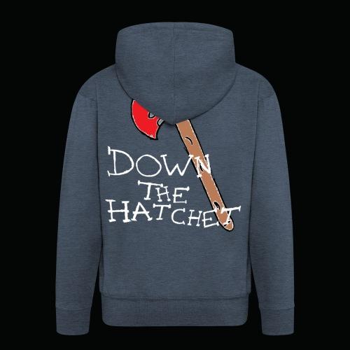 DTH Axe logo T-Shirt - Men's Premium Hooded Jacket