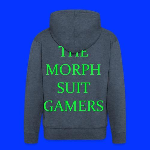 the morph suit gamers clothing etc 1 - Men's Premium Hooded Jacket