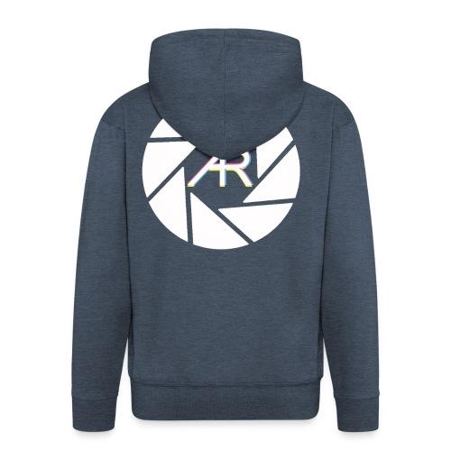AR Photography Aperture - Men's Premium Hooded Jacket