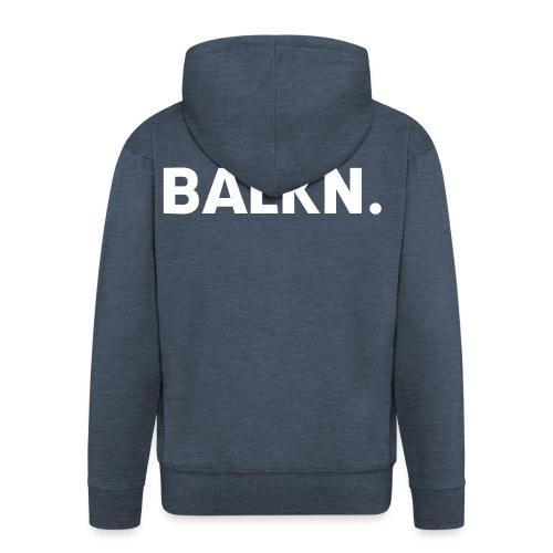 BALKN-_wit_ - Mannenjack Premium met capuchon