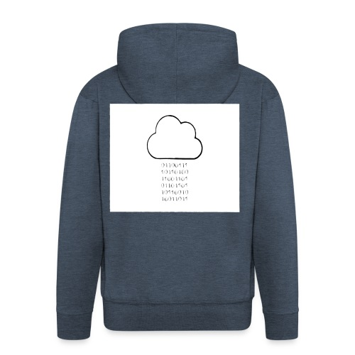 binary - Men's Premium Hooded Jacket