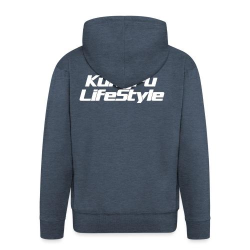 KungFu LifeStyle - Felpa con zip Premium da uomo