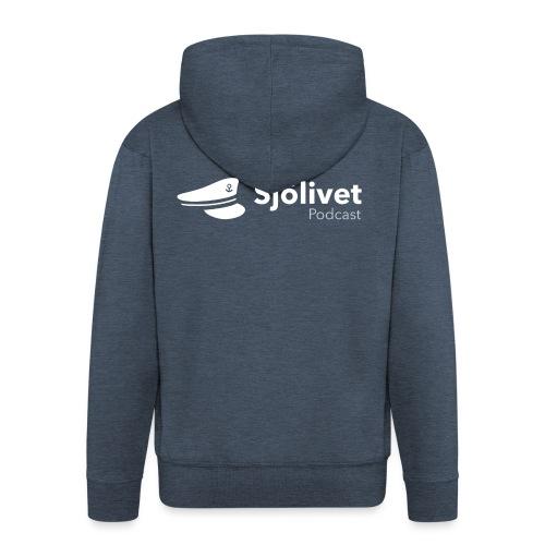 Sjölivet podcast - Vit logotyp - Premium-Luvjacka herr