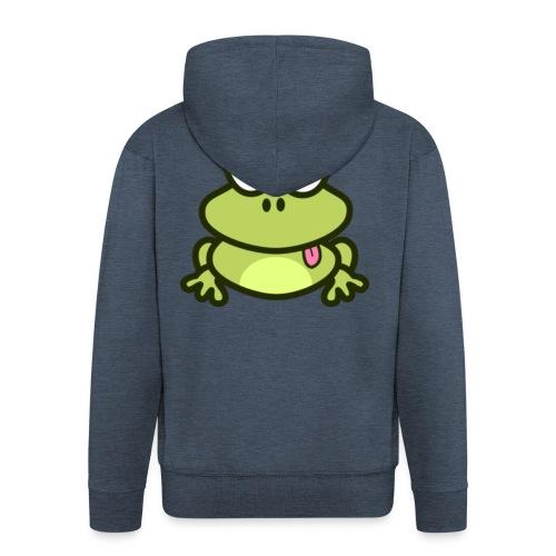 epic frog - Men's Premium Hooded Jacket
