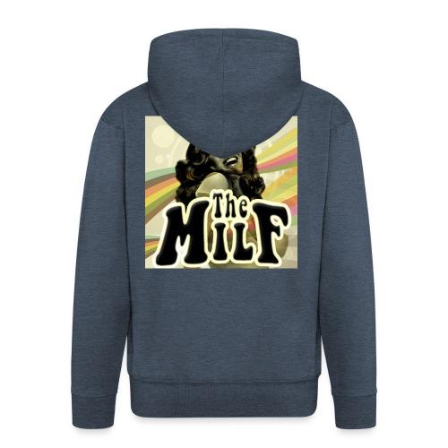 The Milf Classic Logo - Felpa con zip Premium da uomo