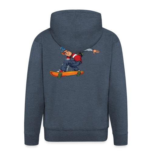 Skater - Men's Premium Hooded Jacket