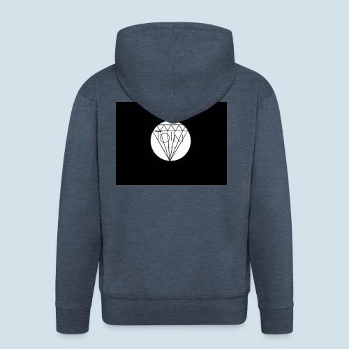 Toin clothing logo - Mannenjack Premium met capuchon
