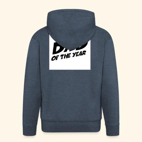 Årets pappa - Premium Hettejakke for menn