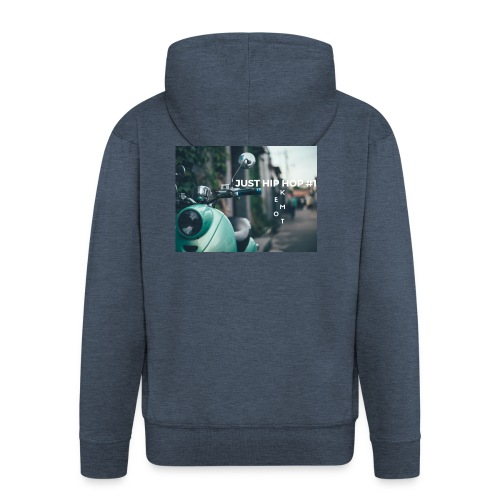 KEMOT_ - Rozpinana bluza męska z kapturem Premium