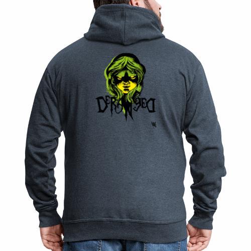 DerangeD - Tattoo Metal Horror Vampire - Herre premium hættejakke