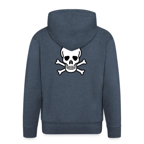 SKULL HOODIE - Men's Premium Hooded Jacket