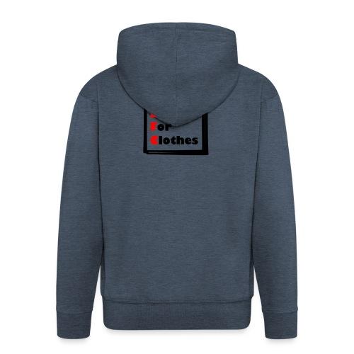 Simpler Design - Men's Premium Hooded Jacket