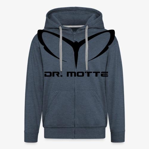 d. motte logo 2 - Men's Premium Hooded Jacket