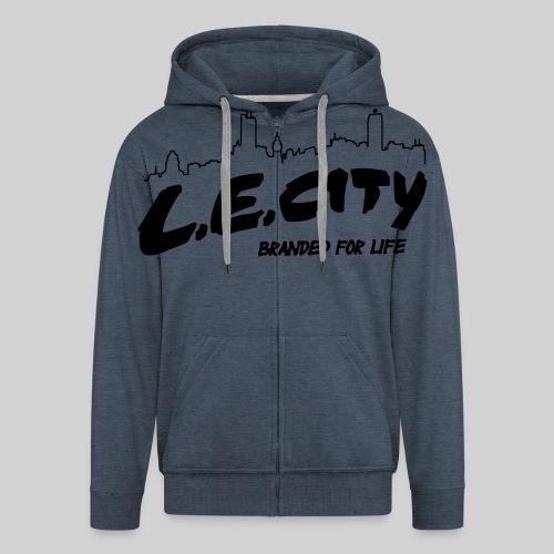 LE City 04 - Männer Premium Kapuzenjacke