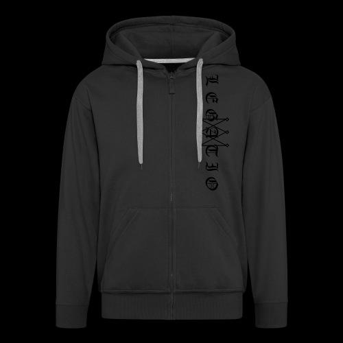 Legatio Fraktur - Men's Premium Hooded Jacket