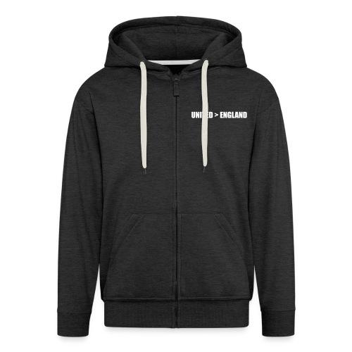 United > England - Men's Premium Hooded Jacket