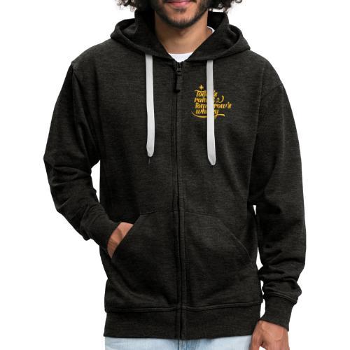 Todays's Rain Women's Tee - Quote to Front - Men's Premium Hooded Jacket