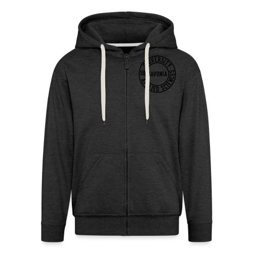 tprint 01 back black - Men's Premium Hooded Jacket