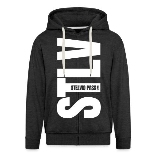 STLV - Felpa con zip Premium da uomo