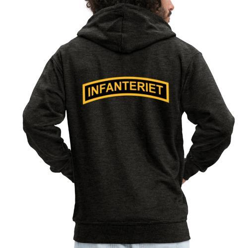 INFANTERIET 2-färg båge - Premium-Luvjacka herr