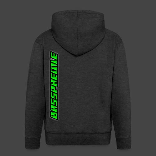 Bassphemie - Neongrün - Männer Premium Kapuzenjacke
