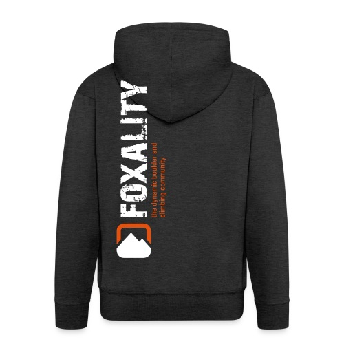 Climbing Community FOXALITY - Männer Premium Kapuzenjacke
