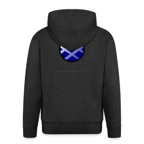 Logo církel - Men's Premium Hooded Jacket