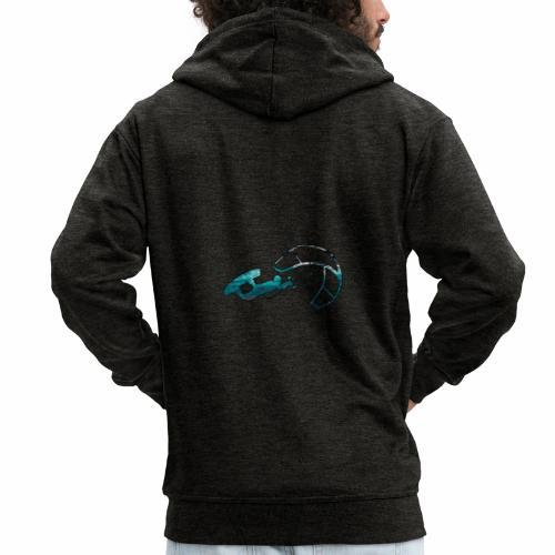 Le Kitesurf - Veste à capuche Premium Homme