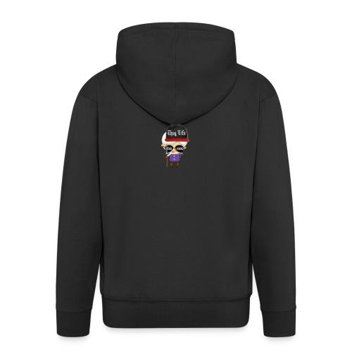 Angry Granny T-shirt - Männer Premium Kapuzenjacke
