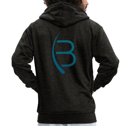 Bookrebels Logo - Men's Premium Hooded Jacket