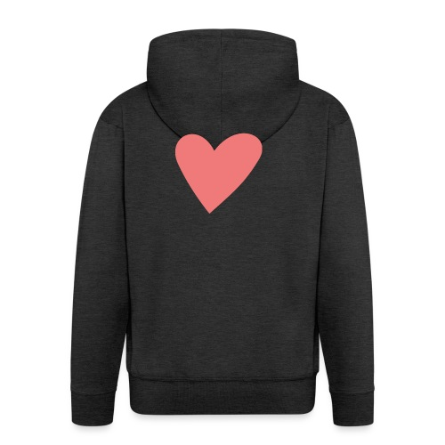 Popup Weddings Heart - Men's Premium Hooded Jacket