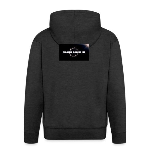 FLAMING GAMING, pre release merch - Men's Premium Hooded Jacket