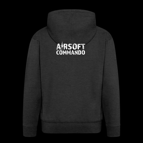 Airsoft Commando - Männer Premium Kapuzenjacke