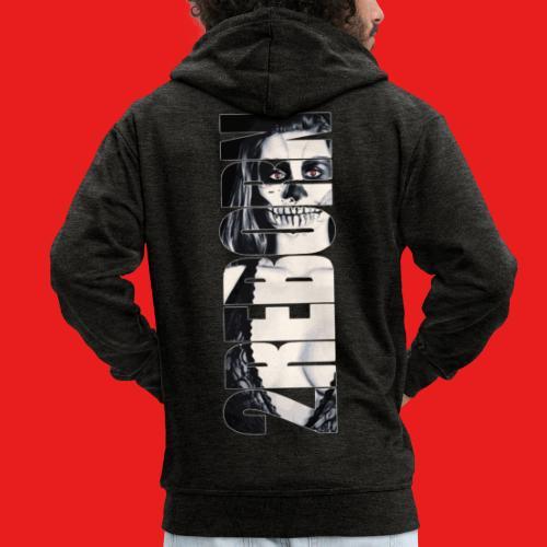 Hot sexy Fashion Pin-Up Girl Dead Zombie 2reborn - Männer Premium Kapuzenjacke