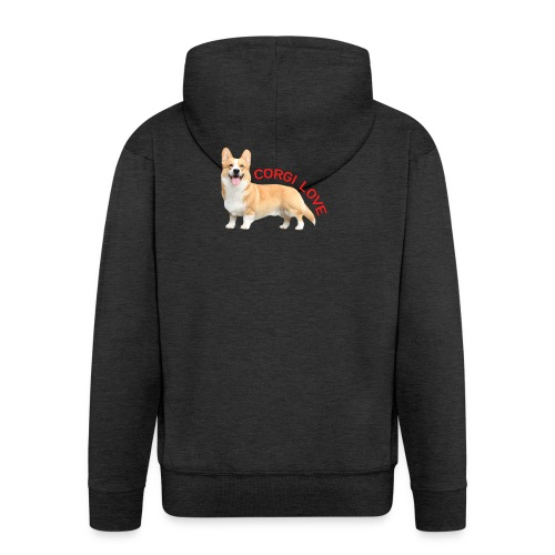 CorgiLove - Men's Premium Hooded Jacket