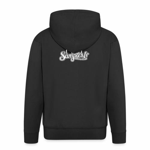 Samples.fr noir - Veste à capuche Premium Homme