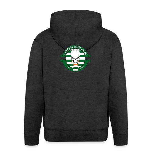 Green brigade - Men's Premium Hooded Jacket